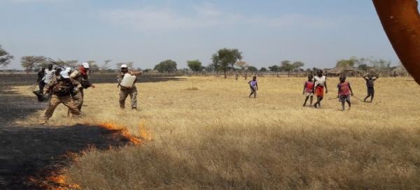 Өмнөд Суданд Монгол цэргүүд 30 хүний амь аварчээ