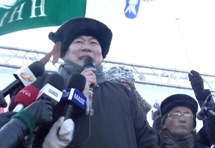 """МАНАН дэглэмийн эсрэг """"Монгол түмний нэгдэл""""-ийн жагсаал эхэллээ"""