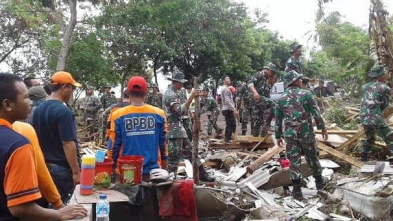 Индонезийн цунамид амиа алдагсдын тоо нэмэгдсээр