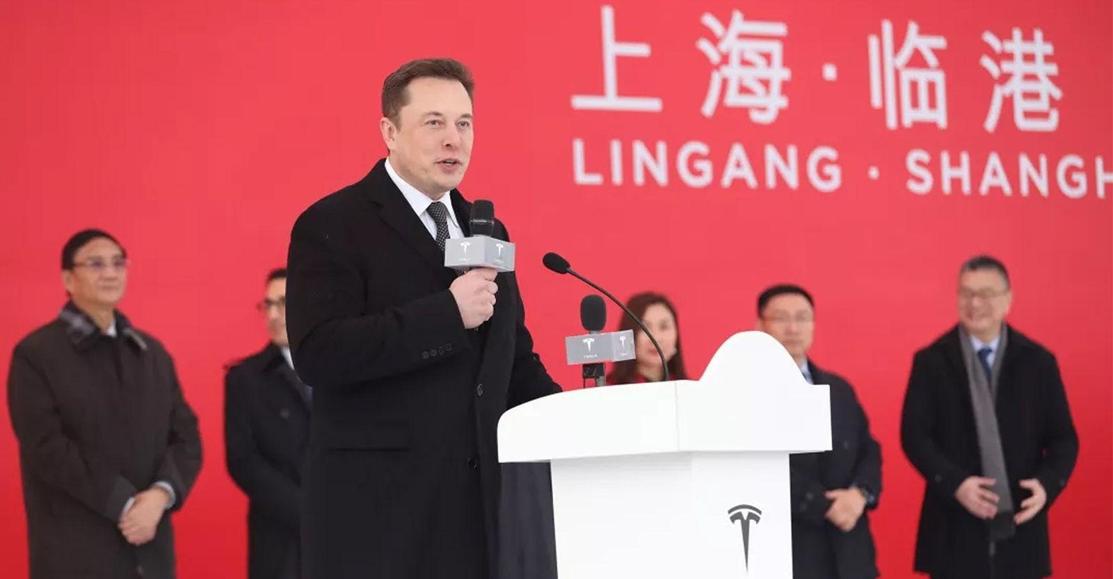 Тесла компани гадаад дахь анхны үйлдвэрийнхээ шавыг Шанхайд тавилаа