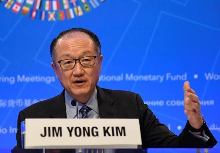 Дэлхийн банкны ерөнхийлөгч Жим Ён Ким албан тушаалаа өгч байгаагаа мэдэгдлээ