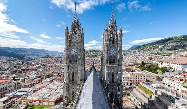 Эквадор улcруу визгүй зорчино