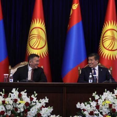 Х.Баттулга Киргиз улстай хамтран ажиллах зэрэг баримт бичгийг байгууллаа