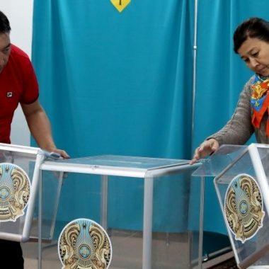 Казахстаны ерөнхийлөгчийн сонгуулийн булхай
