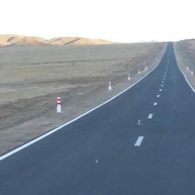 Толбо – Хашаат чиглэлийн 60км зам ашиглалтанд орлоо