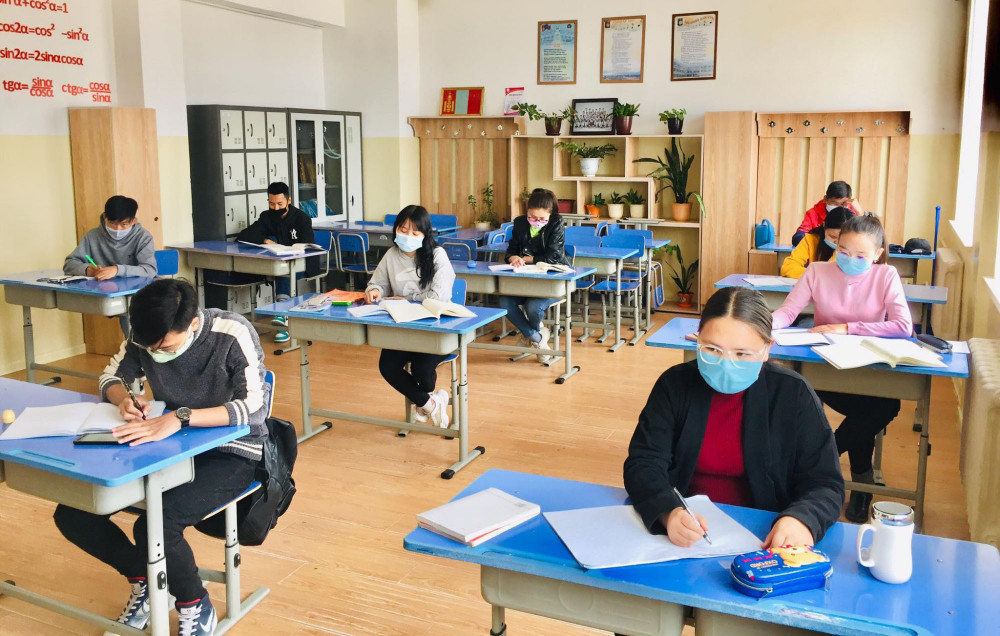 Төгсөх ангийн сурагчдын давтлага хичээлийг зохион байгуулж дуусчээ
