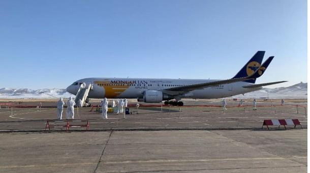 Токио-Улаанбаатар чиглэлийн тусгай үүргийн онгоцоор 258 иргэн эх орондоо ирлээ