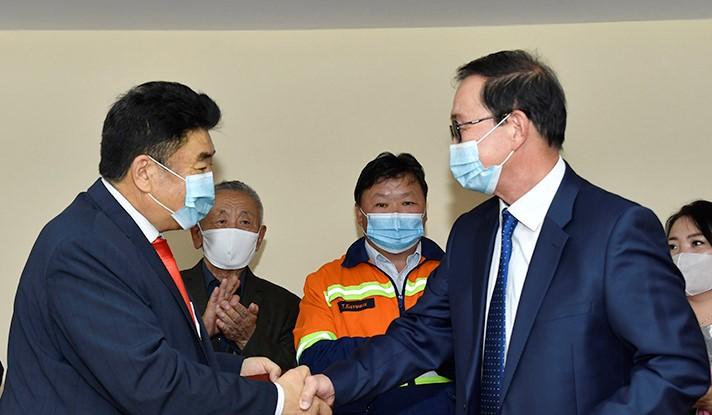 """""""Эрдэнэт үйлдвэр"""" ТӨҮГ, Монголын ажил олгогч эздийн нэгдсэн холбоо хамтран ажиллах санамж бичиг үзэглэлээ"""