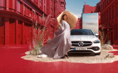 Монгол модел Ж.Энэрэл Mercedes Benz-ийн 2021 оны шинэ загварын нүүр царай боллоо