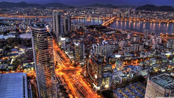 Солонгосын хөл хөдөлгөөн ихтэй 5  газар