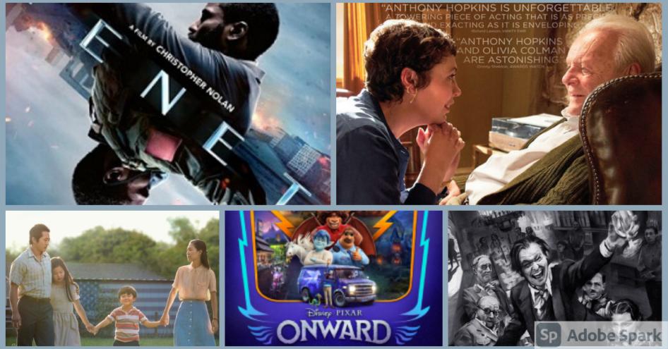 Оскарын шагналд нэр дэвшсэн кинонууд