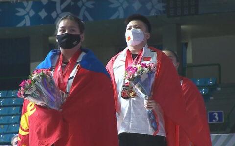 М.Анхцэцэг Азийн аварга шалгаруулах тэмцээнээс ХҮРЭЛ медаль хүртлээ