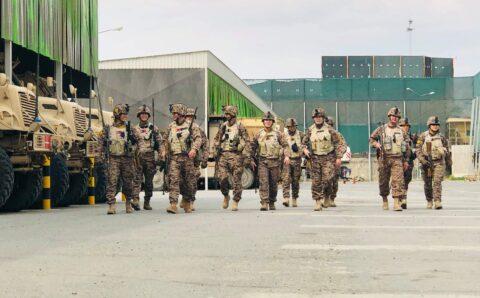 Монгол Улсын зэвсэгт хүчний цэргийн баг үүргээ хүлээлгэн өглөө