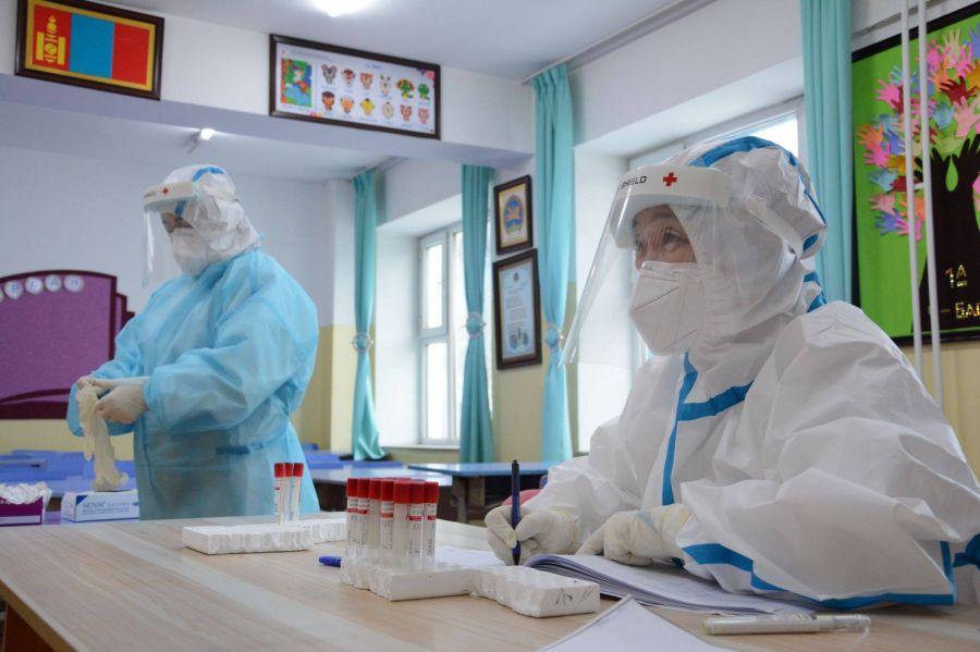 ЭМЯ: 2395 хүн ковидын халдвар авч, есөн хүн нас барлаа