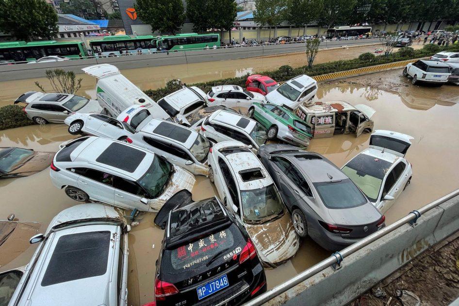 Хятадад үерийн гамшгаас болж 33 хүн амиа алджээ