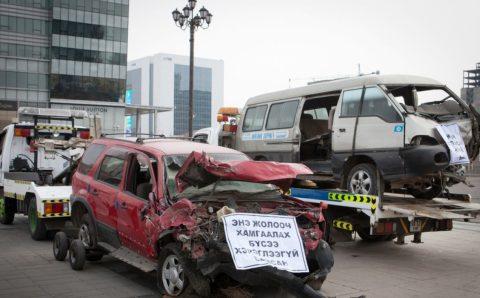 Зам тээврийн ослын улмаас нэг хоногт хоёр хүн амиа алдлаа