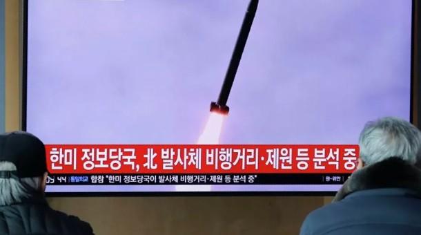 БНАСАУ Япон тэнгис рүү пуужин харважээ