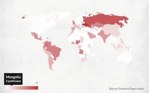 Pandora Papers: Монголын хоёр улс төрч офшор бүсэд хөрөнгөтэй